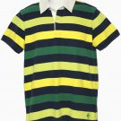 Men's Brooks Brothers Rugby Polo Shirt Striped Size Small