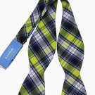 Mens Countess Mara Madras Bow Tie Plaid Cotton One Size