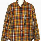 Mens Banana Republic Madras Shirt Plaid Size Medium
