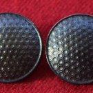 Two Mens Edenderry Blazer or Jacket Buttons Bronze Brown Metal