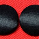 Two Mens Calvin Klein Tuxedo Buttons Set Black Satin