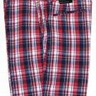 Men's Banana Republic Deck Shorts Plaid Size 36