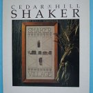 Cedar Hill Shaker Cross Stitch Pattern
