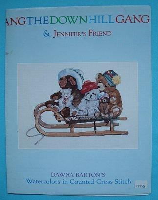 The Downhill Gang Cross Stitch Patterns by Dawna Barton