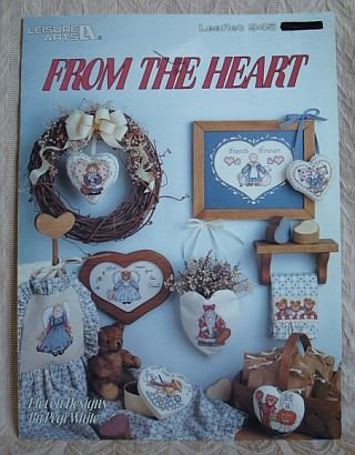 From The Heart Cross Stitch Pattern Booklet