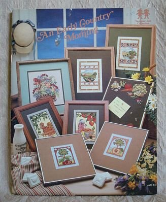 An Early Country Morning Cross Stitch Pattern Booklet