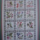 Just Berries Cross Stitch Pattern Leaflet #2189