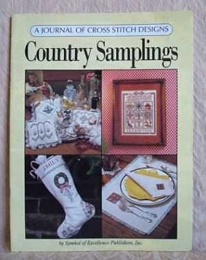 Country Samplings A Journal of Cross Stitch Design Patterns