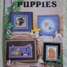 Puppies Cross Stitch Patterns Booklet