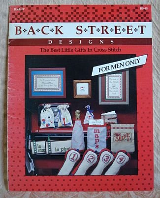 For Men Only Golf Back Street Designs Best Little Gifts In Cross Stitch Booklet