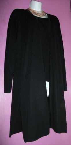 EXCLUSIVELY MISOOK 3 PIECE BLACK KNIT SUIT Size L & XL