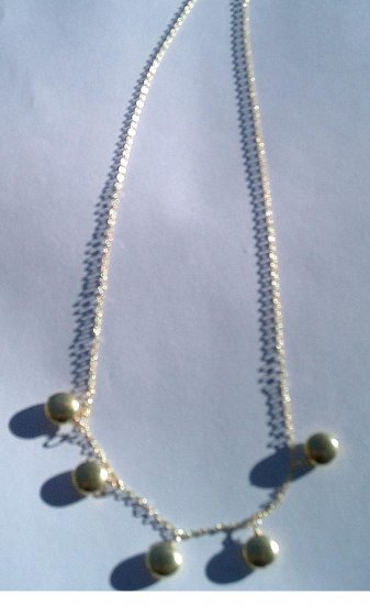 Golden Tan Necklace