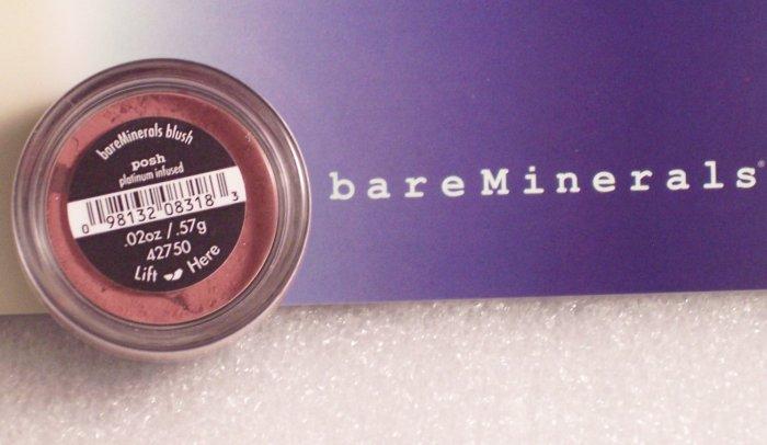 Bare Escentuals Minerals Posh Blush Infused Platinum New