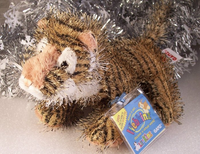 Webkinz Lil'Kinz TIGER Sealed Code & Cares Tag HTF New HS032