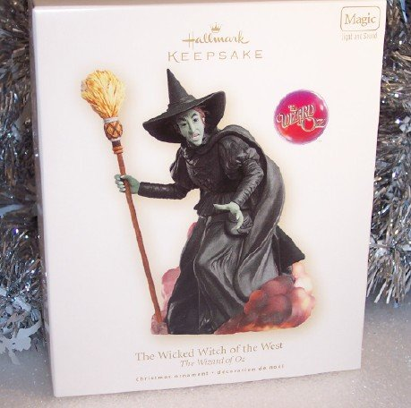 2007 Hallmark Wicked Witch of West Wizard of Oz Magic MIMB