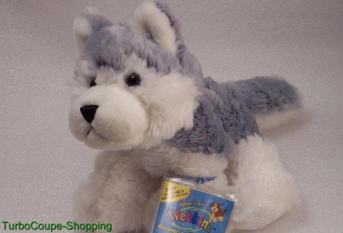 Webkinz Husky Snow Dog Sealed/Unused Tag Computer HM120