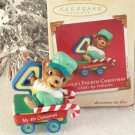 2005 Hallmark Ornament My 4th Christmas Childs Age Collection MIMB