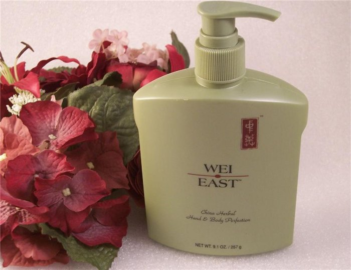 Wei East China Herbal Hand & Body Perfection Lotion ~ Pump 9.1oz.