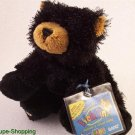 New Webkinz Lil'Kinz Black Bear Sealed Unused Code Tag HTF Ganz