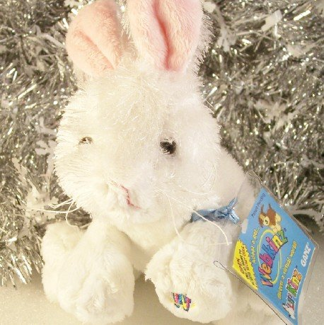 New Webkinz Ganz Lil'Kinz Rabbit ~ Bunny for Easter Unused Sealed Code Tag HS078