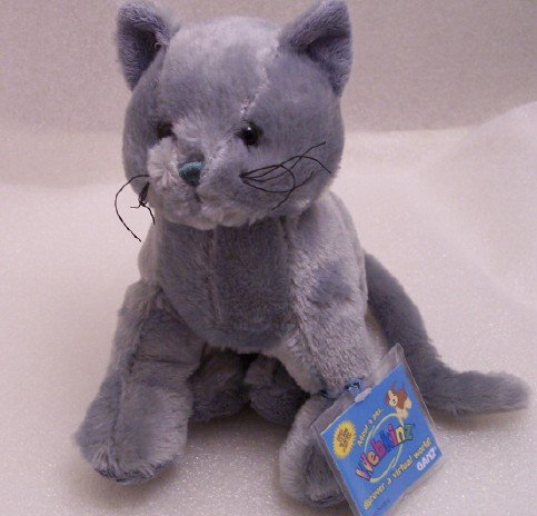 Webkinz Charcoal Cat Unused/Sealed Rare HTF New HM152