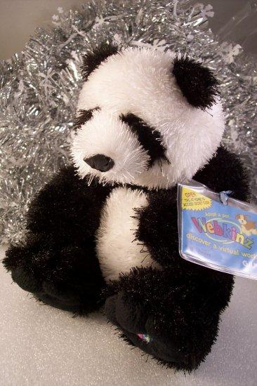 Webkinz Panda ~ New Sealed Unused Tag Code HM111