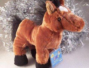 Webkinz New Arabian Horse Brown Sealed/Unused Code Tag HM101