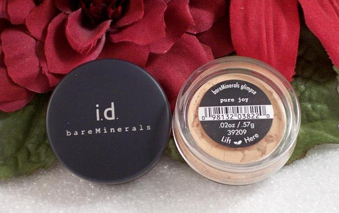 Bare Minerals Escentuals Pure Joy Glimpse EyeShadow New