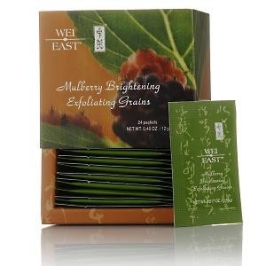 Wei East Mulberry Brightening Exfoliating Grains 24 * New Stock