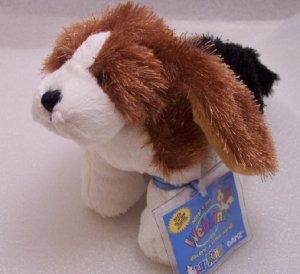 New Webkinz Lil'Kinz Basset Hound Dog Sealed Code Tag HS013