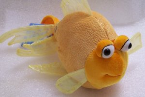New Webkinz Fantail Goldfish Water Room Retired Sealed HM218