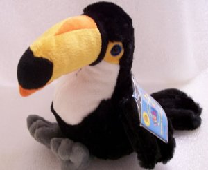 New Webkinz Toco Toucan Flying Bird Sealed Tag Retired HM223
