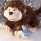 New Webkinz Cheeky Monkey Large Retired Sealed Code Tag HM080