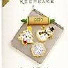 2010 Hallmark VIP Season's Treatings Colorway Cupcakes 2009 Special Edition Ornament