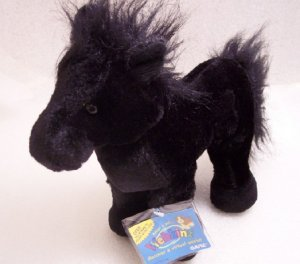 Webkinz Black Stallion Horse Sealed Tag New Code HM145