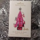 2010 Hallmark All about the Shoes! Christmas Tree Metal Barbie New Ornament