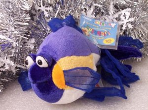 Webkinz Lil Kinz Purple Goldfish Sealed Tag New Code HS512