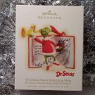 2009 Hallmark Christmas Means Something More Dr Seuss How the Grinch Stole Christmas Ornament New