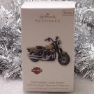2010 Hallmark Harley Davidson 2009 Softail Cross Bones Motorcycle New Ornament