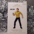 2010 Hallmark Captain James T. Kirk Star Trek Legends # 1 Ornament New