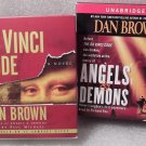 The Da Vinci Code and Angels & Demons Set of 2 Unabridged CD Audio Books Dan Brown