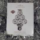 2011 Hallmark Happy Harley Days Harley Davidson Motorcycle Tree Ornament New