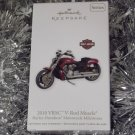 2011 Hallmark Harley Davidson 2010 VRSC V Rod Muscle Motorcycle New Ornament Series # 13