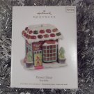 2011 Hallmark Flower Shop Noelville Series # 6 Town Ornament New
