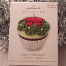 2011 Hallmark Simply Irresistible! Christmas Cupcakes New Series # 2 Keepsake Ornament