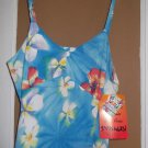 XS Jams World Hawaiian Flower Frangipani Camisole Blouse Made in Hawaii New NWT