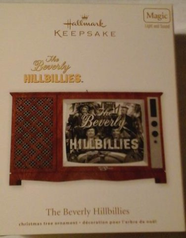 2012 Hallmark The Beverly Hillbillies Magic Light & Sound Ornament New Mint