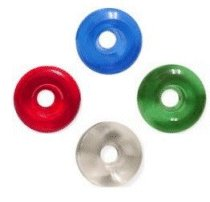 Blank Clear Wheels (Red)