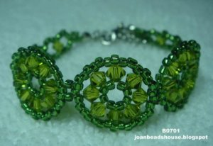 eBeauty*B0701 - Three Circles Beads Bracelet
