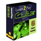 Learn To Play The Guitar with a 6 eBook set